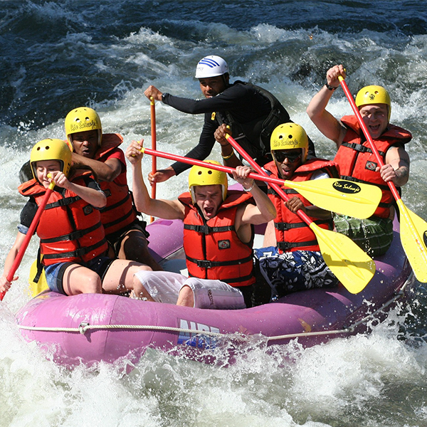 Rafting in Boise Idaho