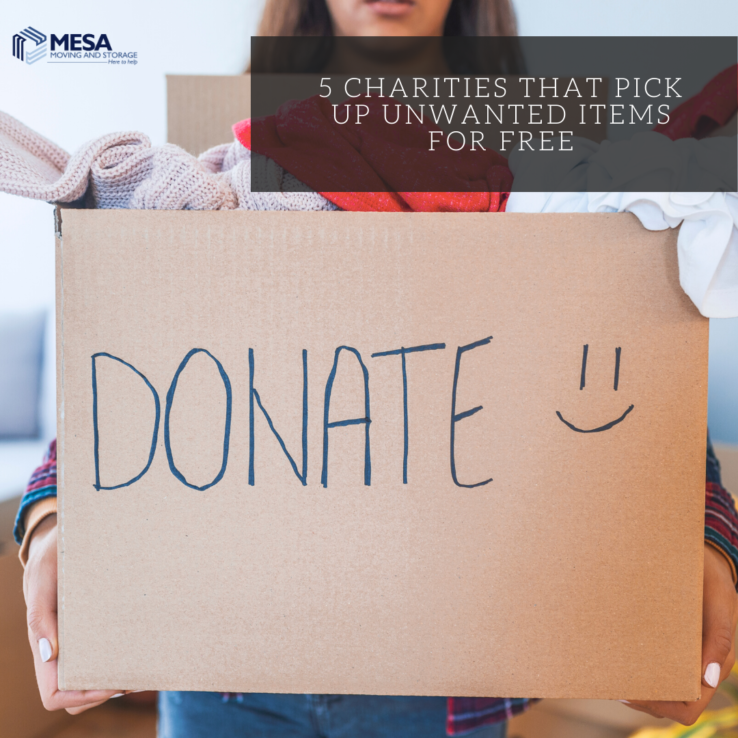 5 Charities That Pick Up Unwanted Items for Free