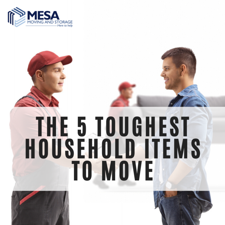 The 5 Toughest Household Items to Move