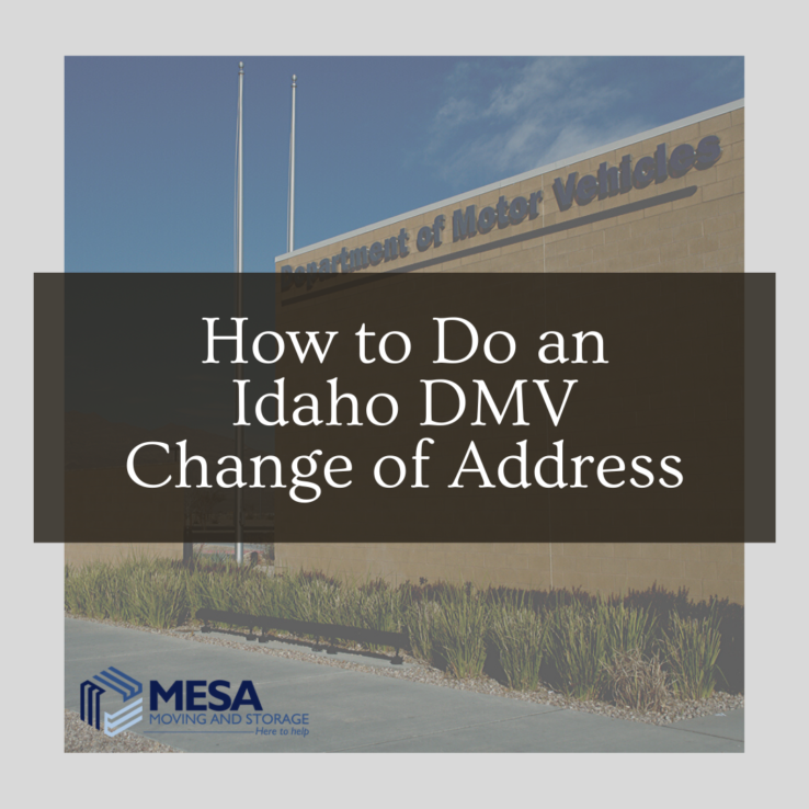 How to Do an Idaho DMV Change of Address