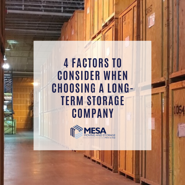 _4 Factors to Consider When Choosing a Long-Term Storage