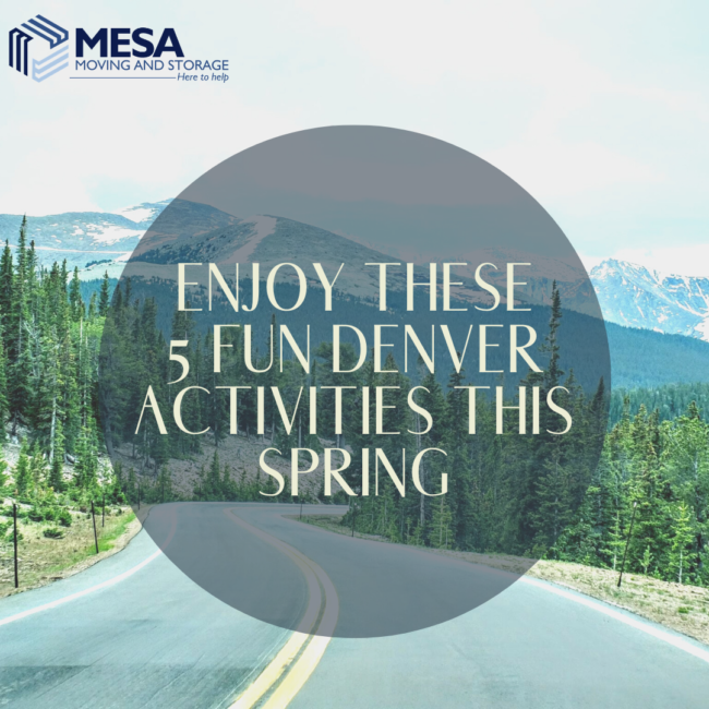Enjoy These 5 Fun Denver Activities This Spring