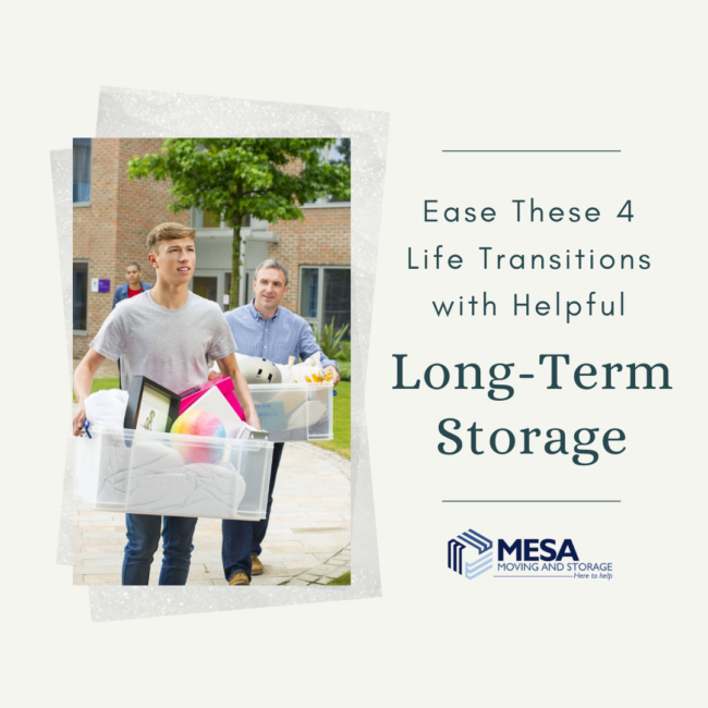 Ease These 4 Life Transitions with Helpful Long-Term Storage