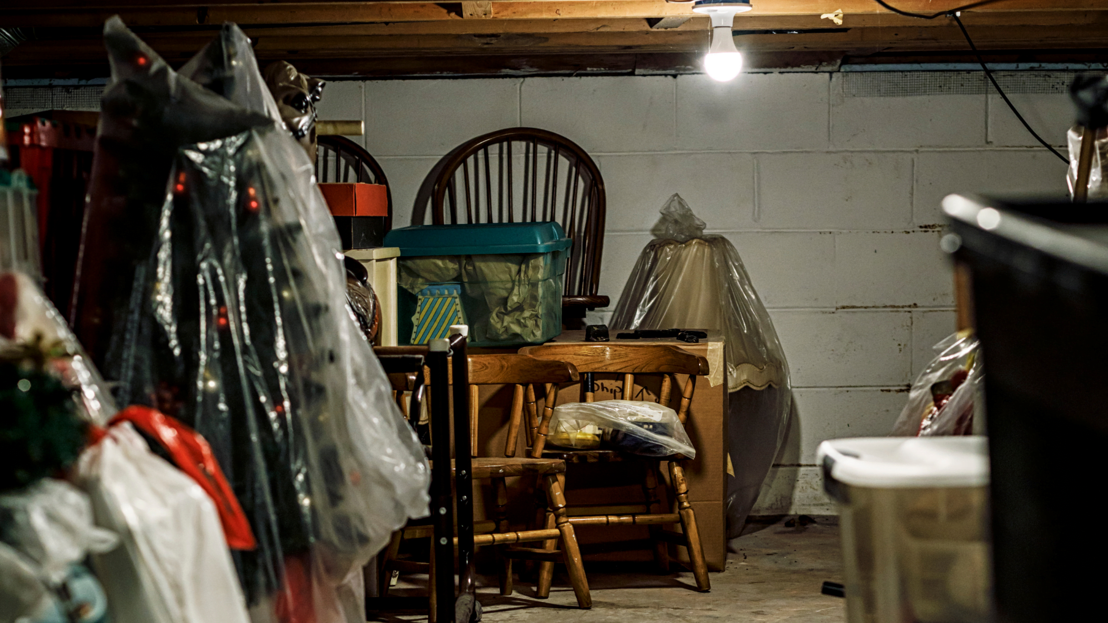 Storing in Your Basement Vs. Storing Off-Site