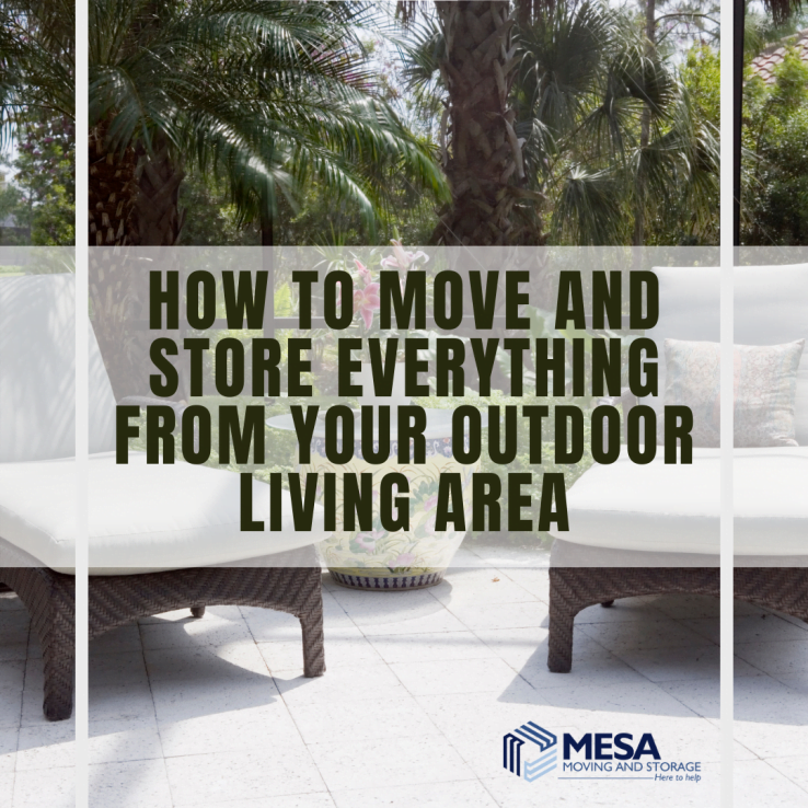 How to Move and Store Everything from Your Outdoor Living Area